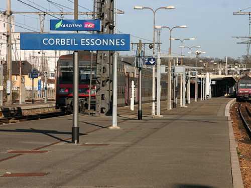 Transfert entre Corbeil-Essonnes et les gares de l'Essonne